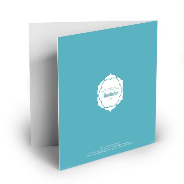 Greeting card verso – Authenticity