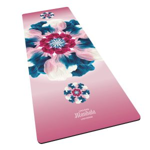 Tapis de yoga fini suède – Amour inconditionnel